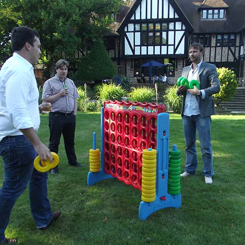 outdoor garden games hire in essex