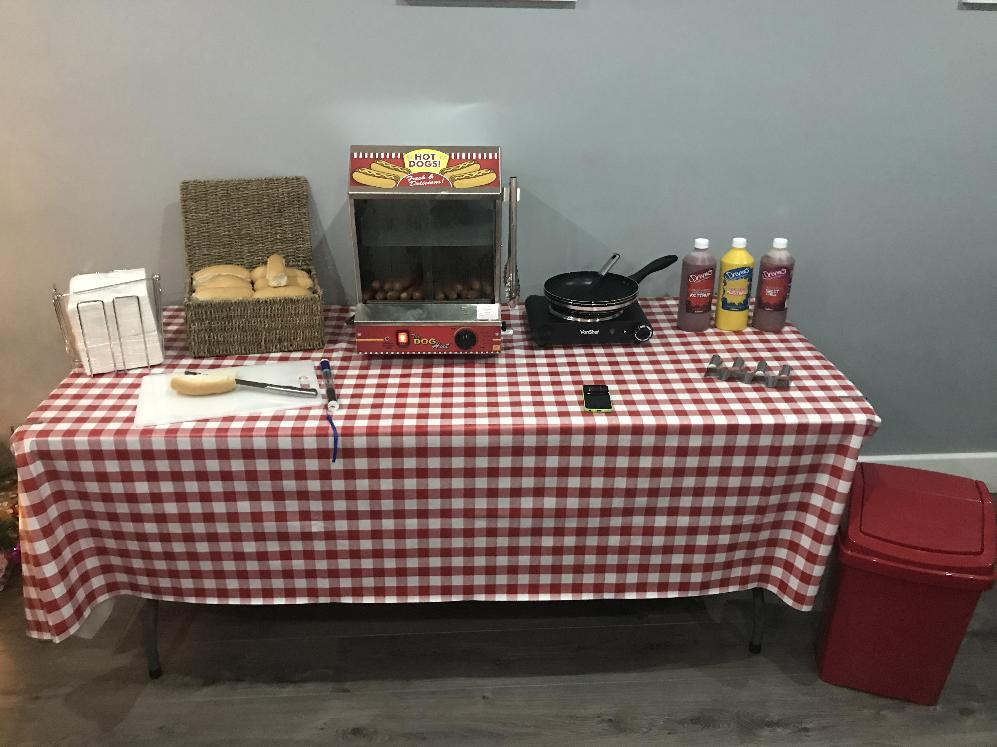 Hot Dog Machine for hire in Essex
