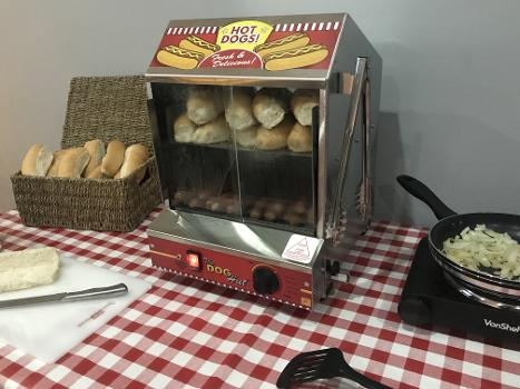 hot dog machine hire in essex