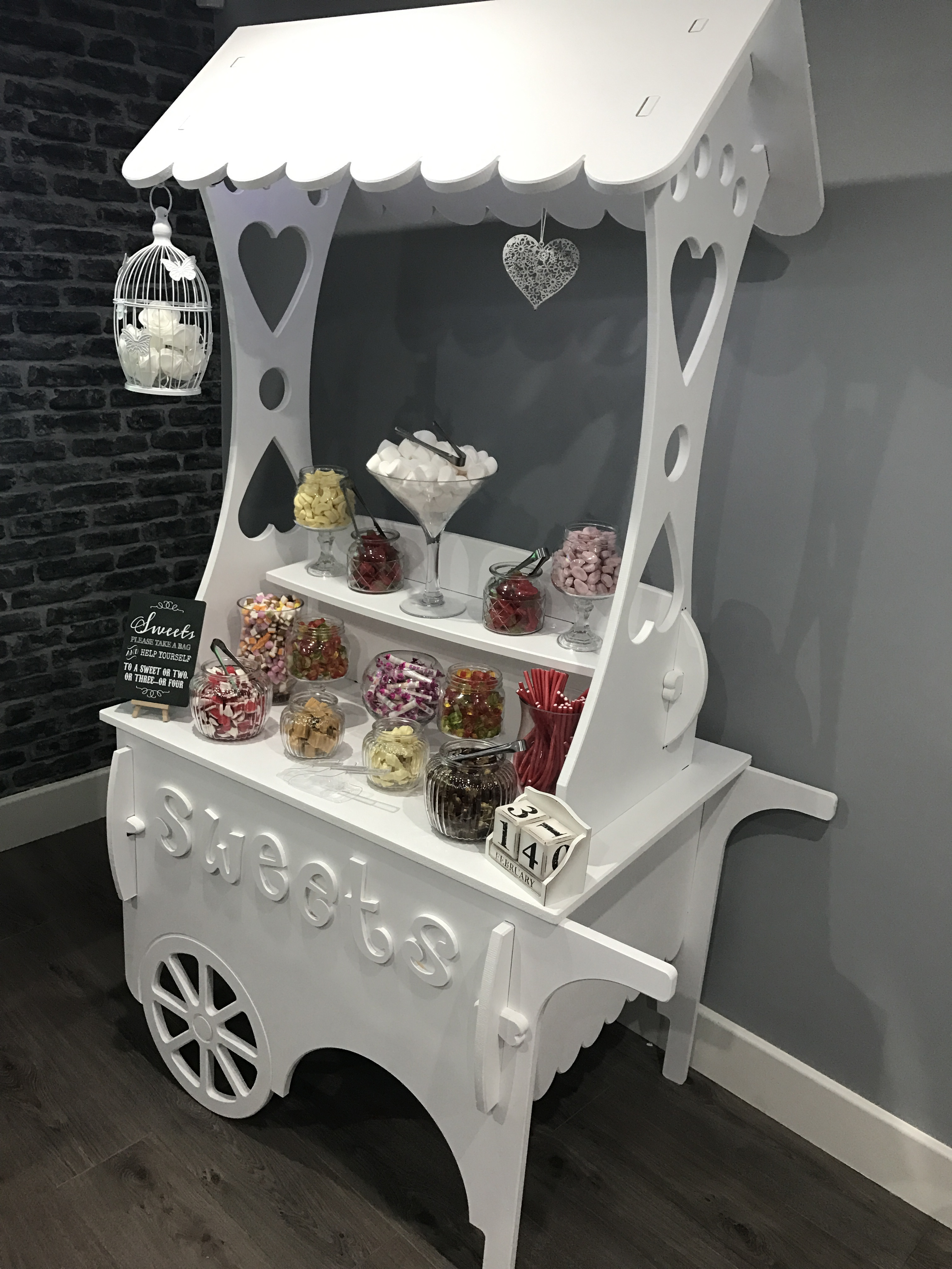 sweet cart hire in essex