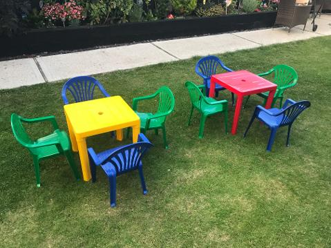 children chair and table hire in essex