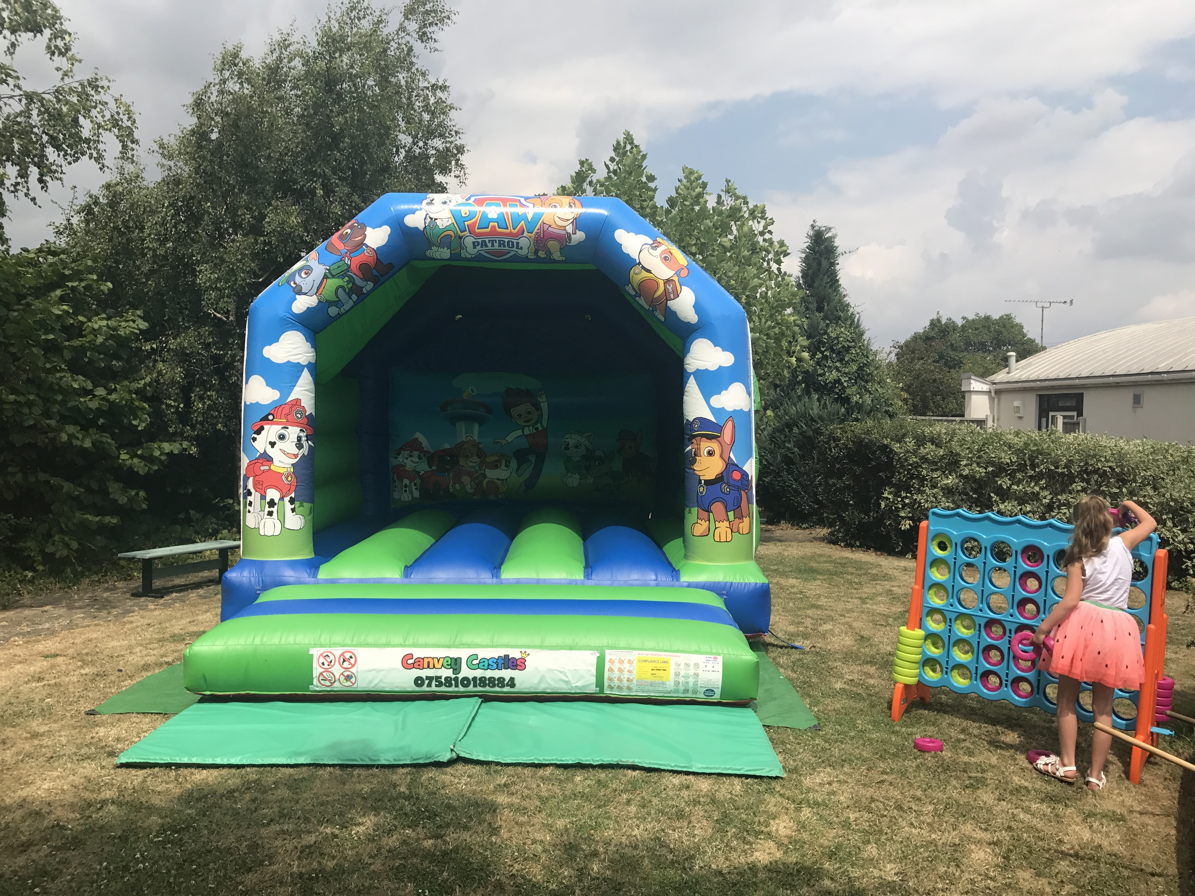 bouncy castle hire in essex