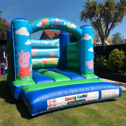 Peppa Pig Inflatable Hire In Essex.