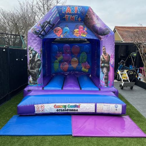 Small Fortnite Bouncy Castle Hire Essex
