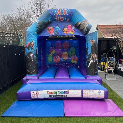 Small Harry Potter Bouncy Castle Hire Essex
