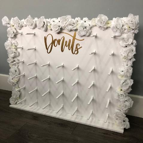 Large Flower Donut Wall Hire In Essex